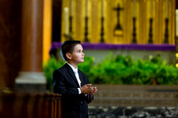 Andrew's First Communion presession