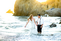 Nancy & Miwland Trash the dress photography
