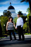 Isaura y Hector engagement session Sacramento