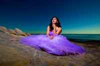 Nanette Trash the dress In Malibu